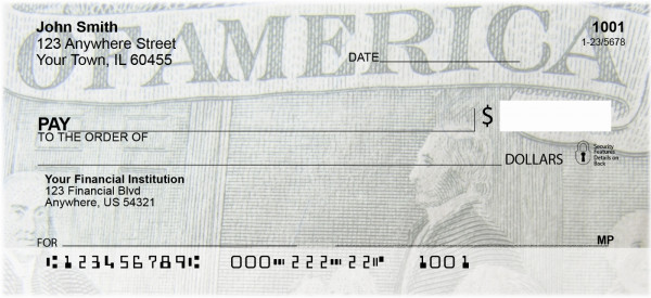 Founding Fathers Personal Checks | BAA-40