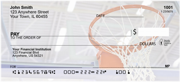 Basketball Dreams Personal Checks | BAB-52
