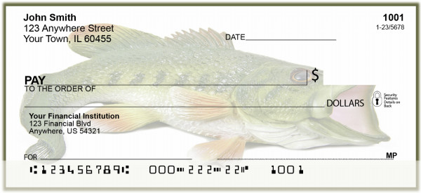Bass Fish Personal Checks | BAB-54