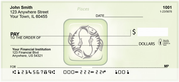Pisces Astrology sign Personal Checks | BAE-06