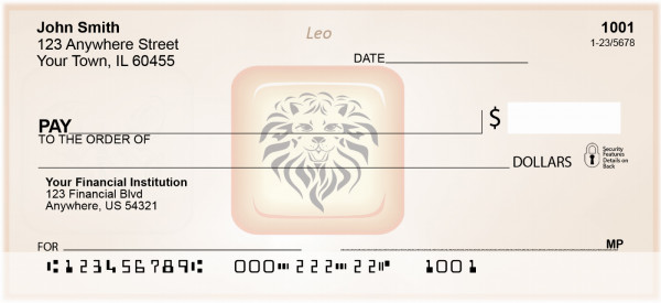 Leo Astrology Sign Personal Checks | BAE-09