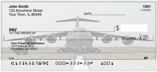 Global Airlift Personal Checks | BAE-50