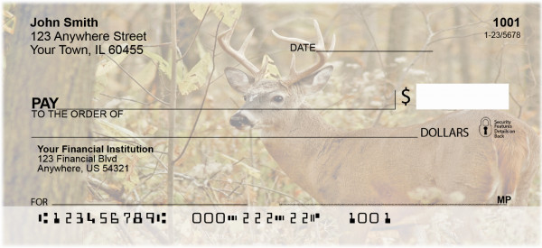 Deer Hunting Fever Personal Checks | BAF-59