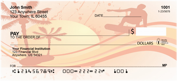 Surfin Personal Checks | BAF-72
