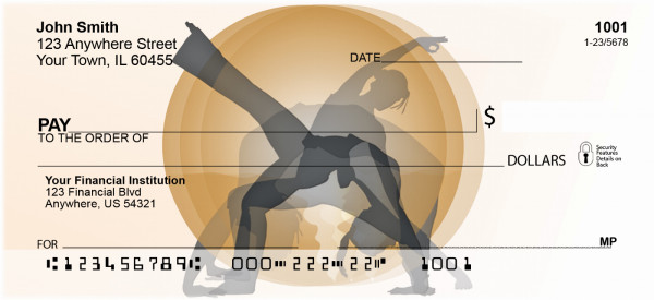 Yoga Moves Personal Checks | BAF-82