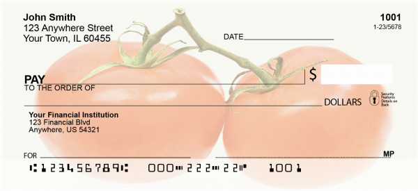 The Tomato Personal Checks | BAF-92