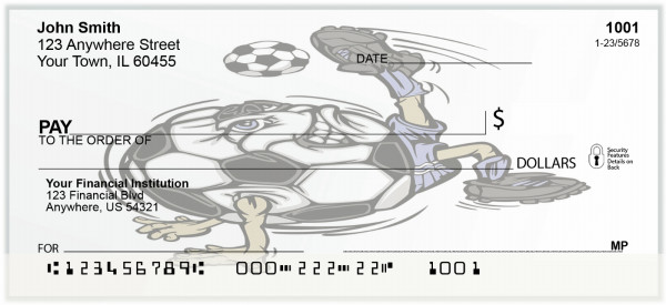 Soccer Magic Personal Checks | BAF-98