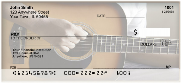 Country Music Personal Checks | BAH-34
