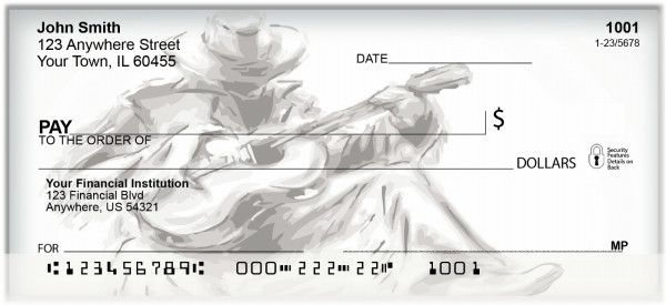 Just Country Music Personal Checks | BAH-35