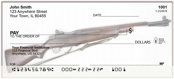 WWll Rifles and Guns Personal Checks | BAI-09
