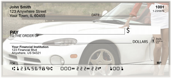 Sports Car Fun Personal Checks | BAK-80