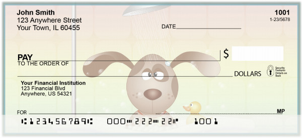 Doggy Spa Day Personal Checks | BAL-73