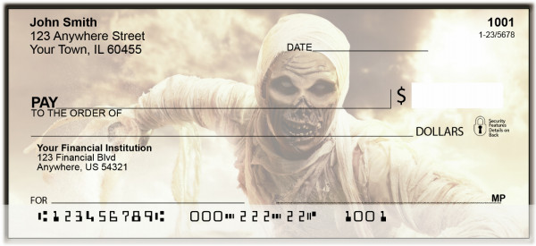 Zombie Walkers Personal Checks | BAM-35
