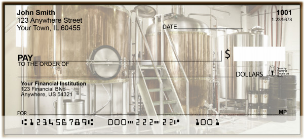 Micro Brewery Personal Checks | BAM-40