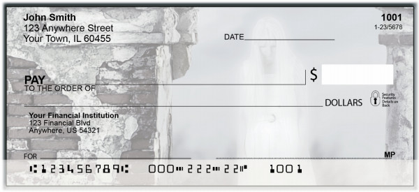 Ghost Haunting Personal Checks | BAN-20