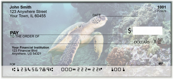 Sea Turtles Personal Checks | BAQ-06