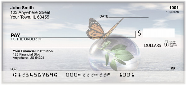 Last Butterfly Personal Checks | BAQ-10