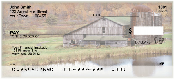 Country Barns Personal Checks | BAQ-20