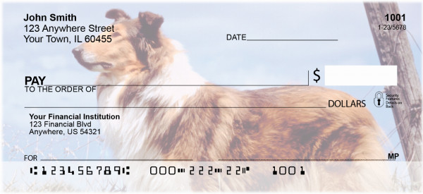 Collies Personal Checks | DOG-14
