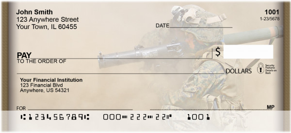 Desert Fighters Personal Checks | MIL-01