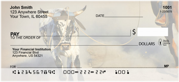 Rodeo Games Personal Checks | PRO-03