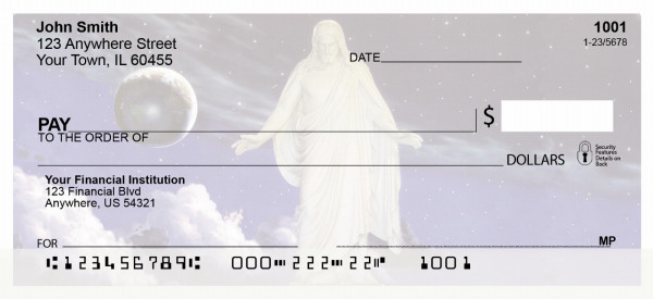 Hope and Peace Christus Personal Checks | REL-04
