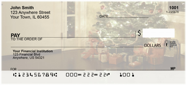 Home for the Holidays Personal Checks | XMS-58