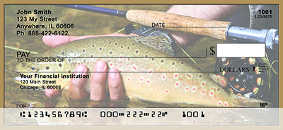 Fly Fishing For Trout Personal Checks