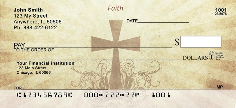 ancient crosses personal checks