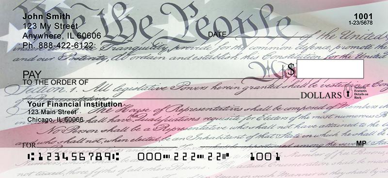 Let Freedom Ring Personal Checks