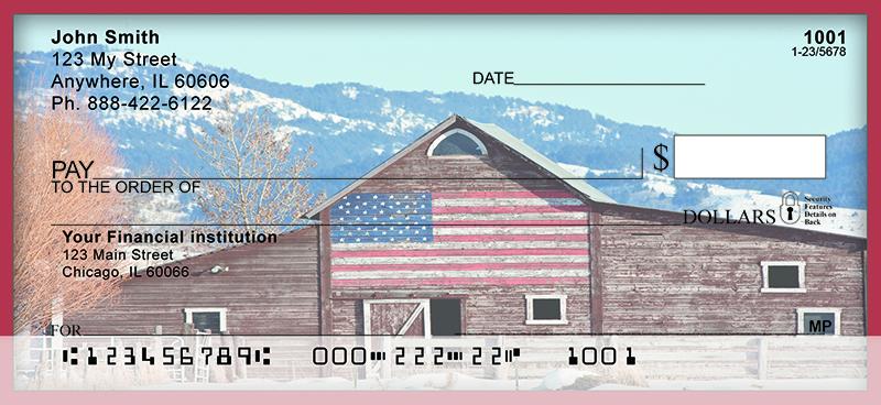 americana barns personal checks With barn checks