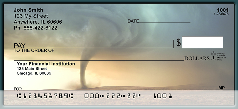 Dangerous Tornado U0026 39 S Personal Checks