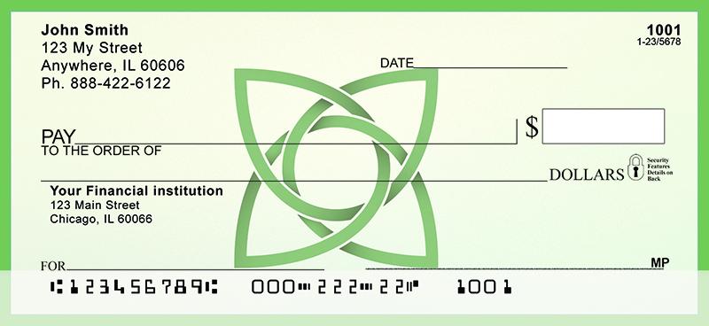 Celtic Symbols Personal Checks