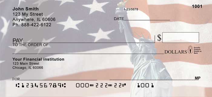 Lady Liberty Personal Checks