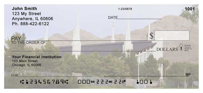 Las Vegas Temple Personal Checks