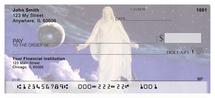 Hope and Peace Christus Personal Checks